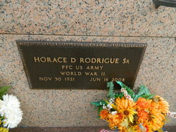 Horace D Rodrigue, Sr