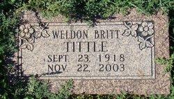 Weldon Britt Tittle