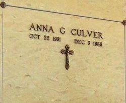 Anna G. Culver