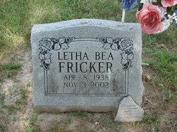 Letha Bea <I>Varble</I> Fricker