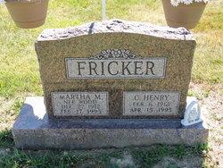 C Henry Fricker