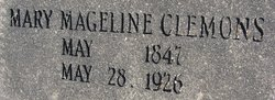 Mary Mageline Clemons