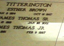 James Thomas Titterington, Jr