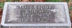 Mabel <I>Engle</I> McMurtrie
