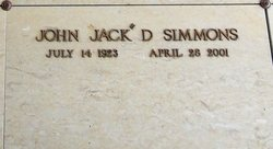 "John D. ""Jack"" Simmons"