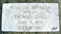 Rosa Lee <I>Stringer</I> Hill