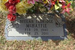 Beulah <I>Eldridge</I> McHaffie