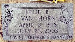 Lillie B. Van Horn