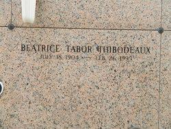 Beatrice <I>Tabor</I> Thibodeaux