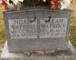 Sarah <I>Nichols</I> Watkins