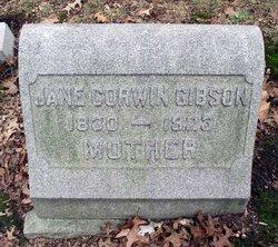 Jane <I>Corwin</I> Gibson