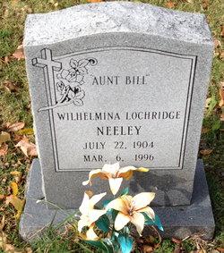 "Wilhelmina ""Aunt Bill"" <I>Lochridge</I> Neeley"