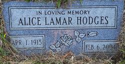 Alice Lamar Hodges