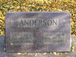 Christine B Anderson