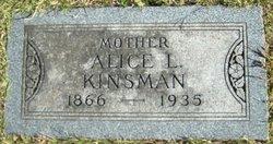 Alice L. <I>Fleming</I> Kinsman
