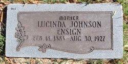 Lucinda <I>Johnson</I> Ensign