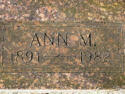 Ann M Sherman