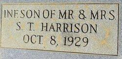 Infant Son Harrison