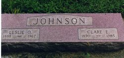 Clara Emma <I>Hays</I> Johnson