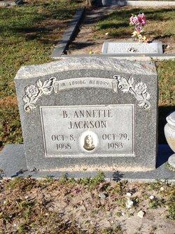 B Annette Jackson