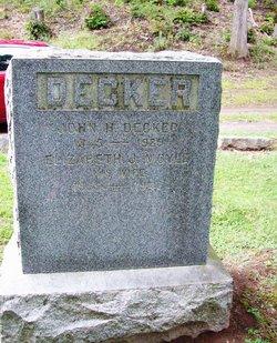Elizabeth J <I>Moyle</I> Decker