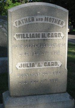 Julia A Card