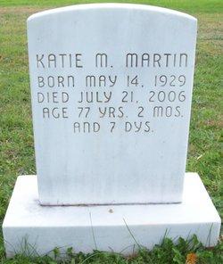 Katie M <I>Burkholder</I> Martin