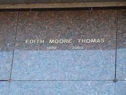 Edith <I>Moore</I> Thomas
