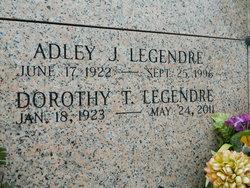 Dorothy <I>Trosclair</I> Legendre