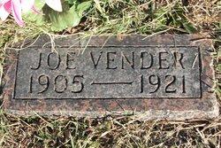 Joe Vender
