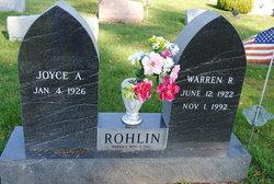 Warren R Rohlin