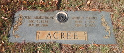 Ocie <I>Armstrong</I> Acree