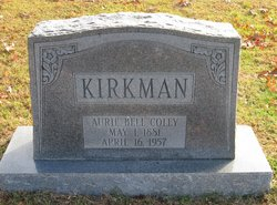 Aurie Bell <I>Coley</I> Kirkman