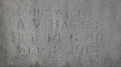 A V Bates