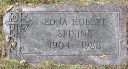 Edna Marie <I>Anderson</I> Spining