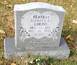 Barbara Louise <I>Kinnard</I> Adkins