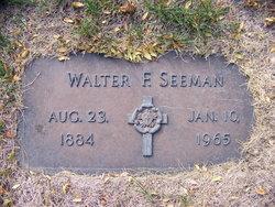 Walter F. Seeman