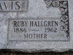 Ruby <I>Smith</I> Hallgren