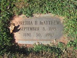Doretha H. Matthews