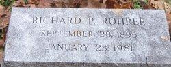 Richard P Rohrer