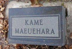 Kame Maeuehara