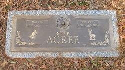 Wesley Dewell Acree