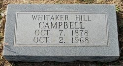 Whitaker Hill Campbell