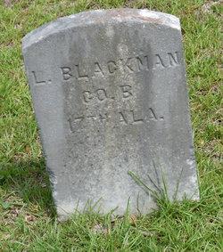 Pvt L. Blackman