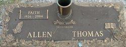 Faith <I>Thomas</I> Allen