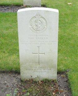 Private Hubert Hayward Sadler