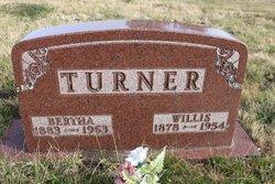 Bertha <I>Butterworth</I> Turner