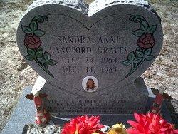 Sandra Anne <I>Langford</I> Graves