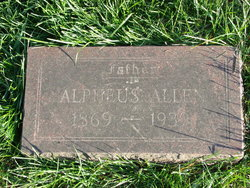 """Alpheus """"Al"""" Allen"""