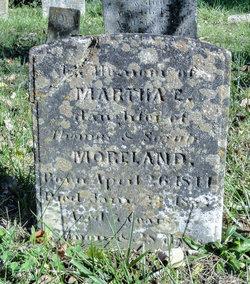 Martha E Moreland